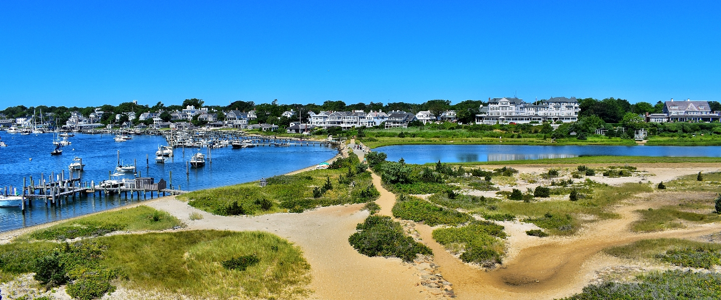 Edgartown, MA Aerial Shot